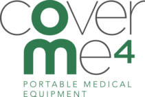CoverMe4 Portable Medical Equipment Logo